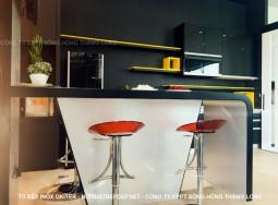 Tủ bếp inox TLI AN01-1