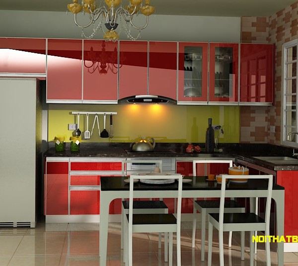 Tủ bếp inox A NA NAN