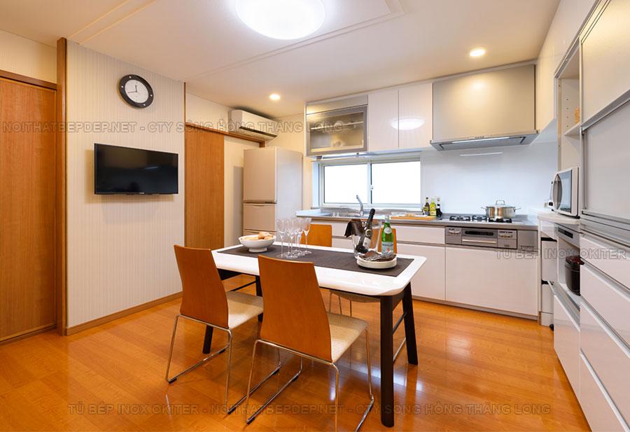 Tủ bếp inox TLI AO01-1