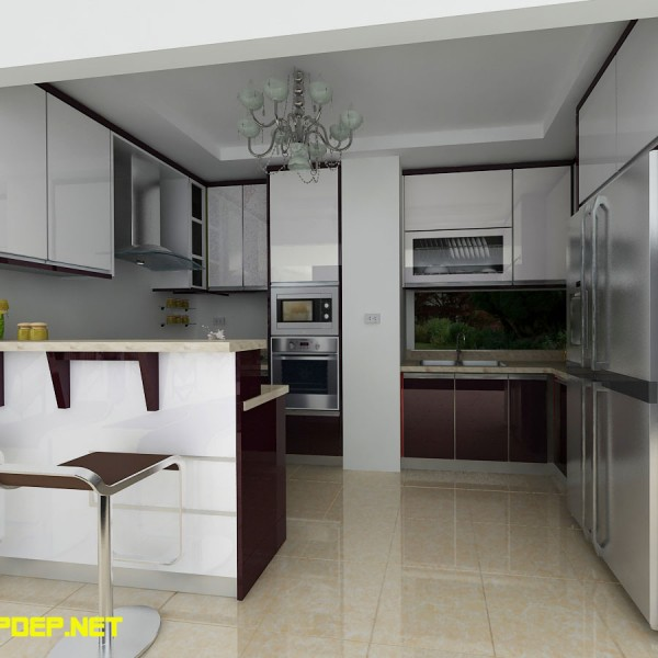 tủ bếp inox Tuấn Ciputra1