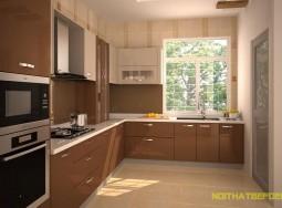 tủ bếp inox AO06