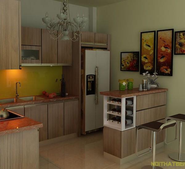 Tủ bếp inox Hải VQ