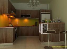 Tủ bếp inox Hải VQ1