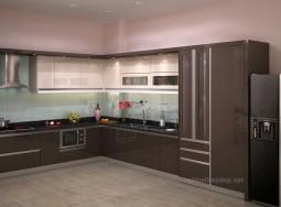 Tủ bếp inox ở PNL