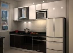 Tủ bếp inox cô Tuyết THNC