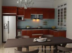 Tủ bếp inox lminate TT-1