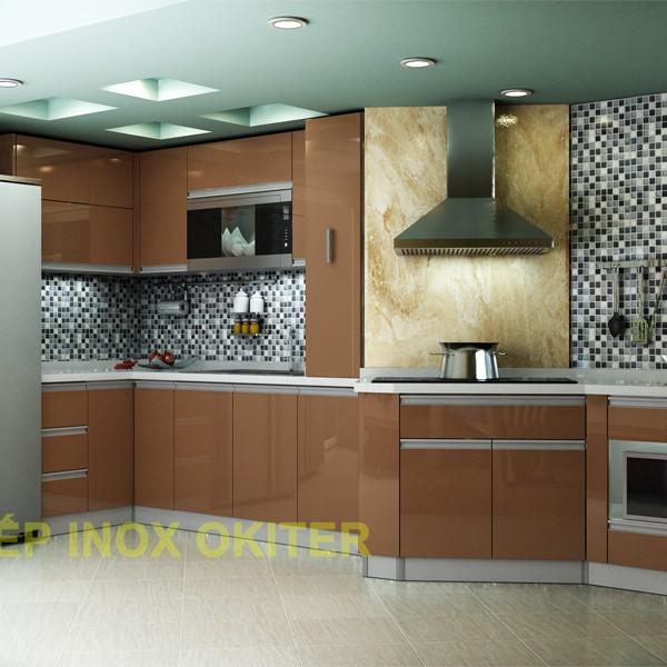 Tủ bếp bằng nhựa TLN01