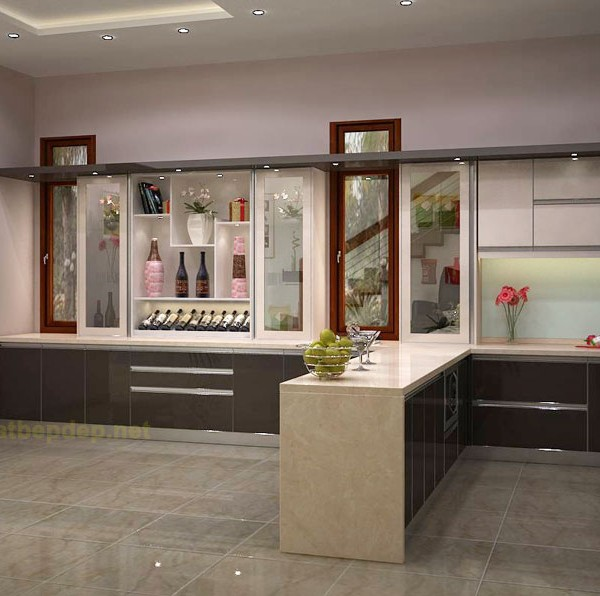 Tủ bếp inox VP2