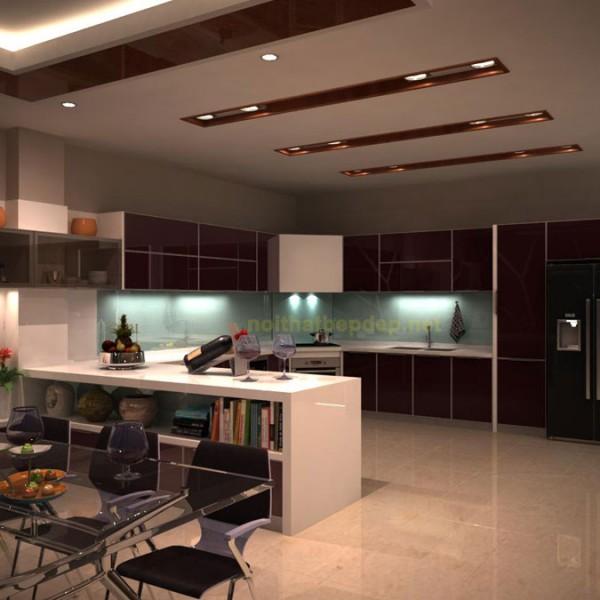 Tủ bếp inox chị Thảo Vĩnh Phúc