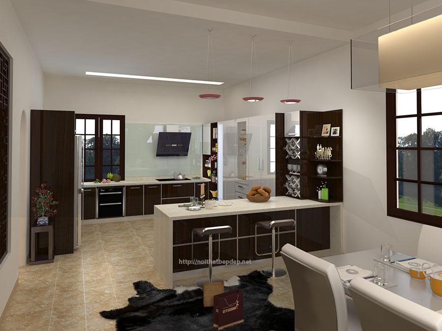 Tủ bếp inox chất lượng cao