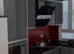 Tủ bếp inox ở thái hà