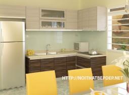 Tủ bếp inox lamiante TLI LO08