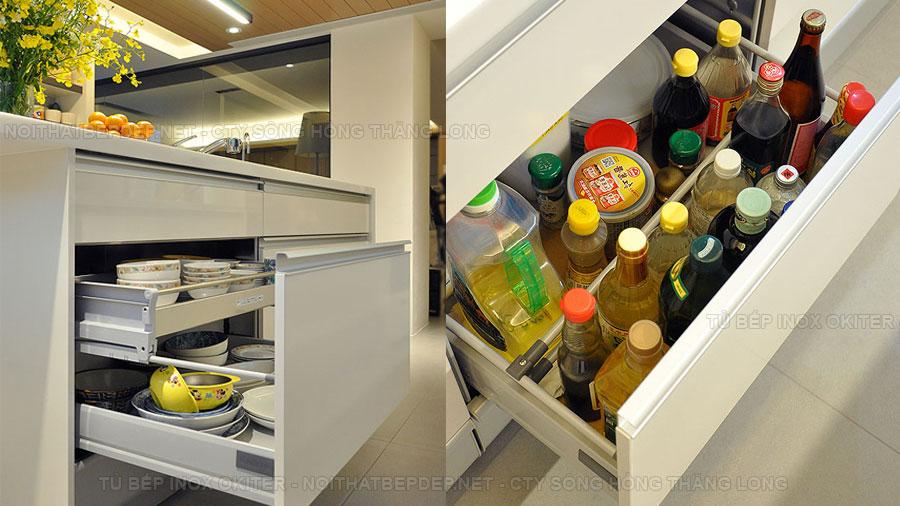 Tủ bếp inox đẹp TLIAO09-2