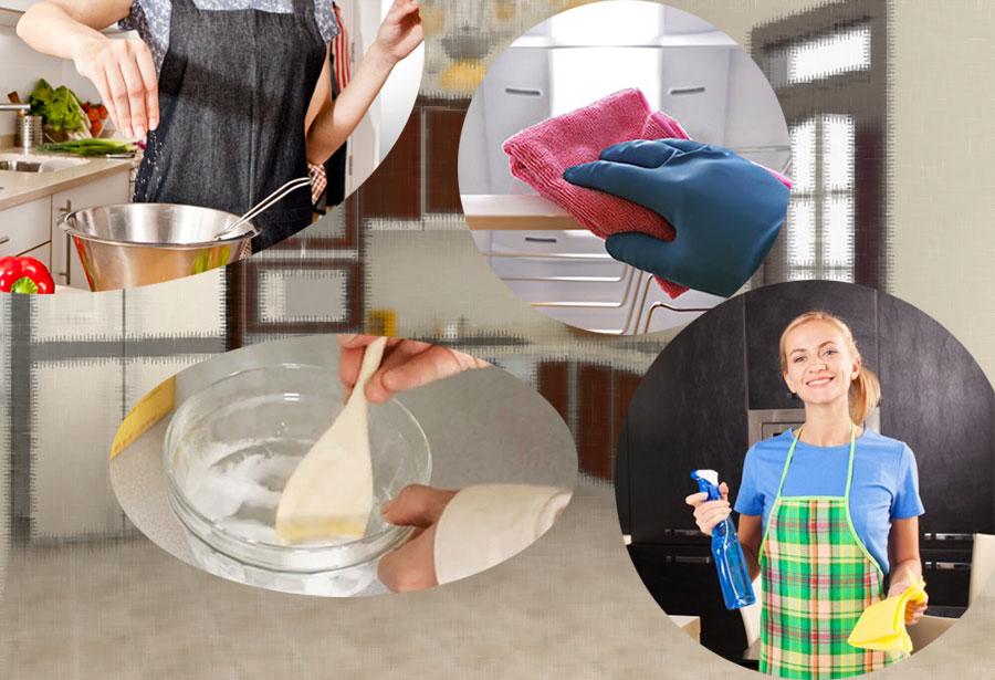 Hướng dẫn vệ sinh tủ bếp inox đẹp