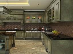 Tủ bếp inox đẹp sang trọng