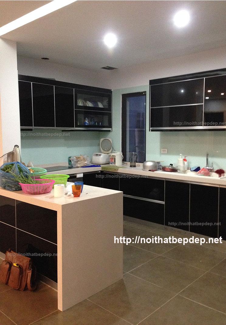 Tủ bếp bằng inox SHTL