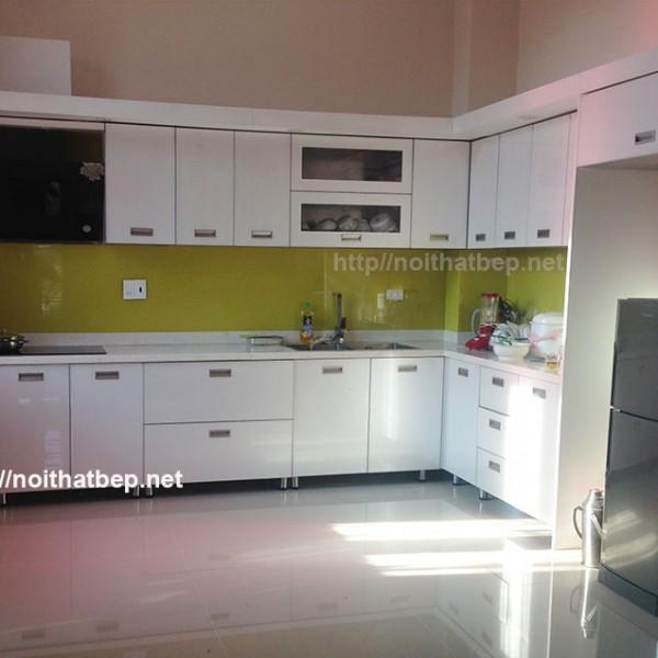 tủ bếp bằng inox ở Hòa Bình