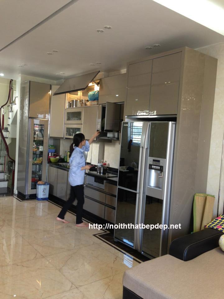 Tủ bếp inox ở Nam Định TLI AO18