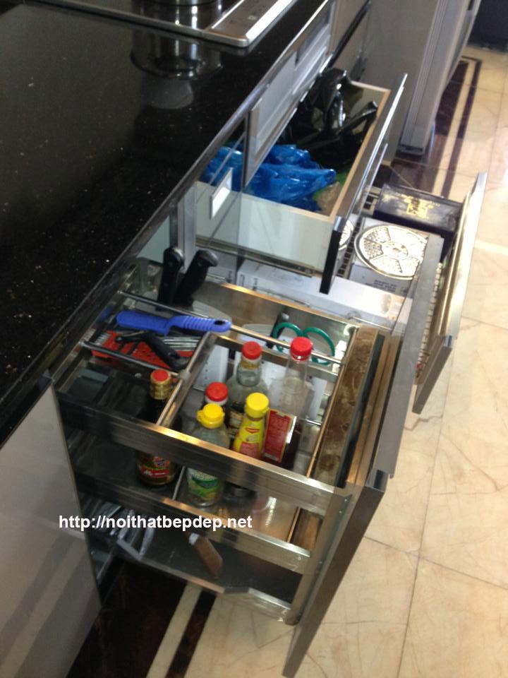 Phụ kiện tủ bếp inox ở Nam Định