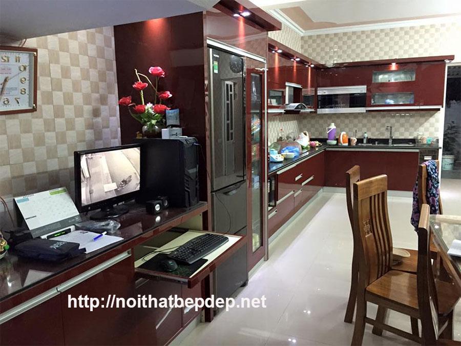 Hình ảnh tủ bếp inox ở Quảng Ninh