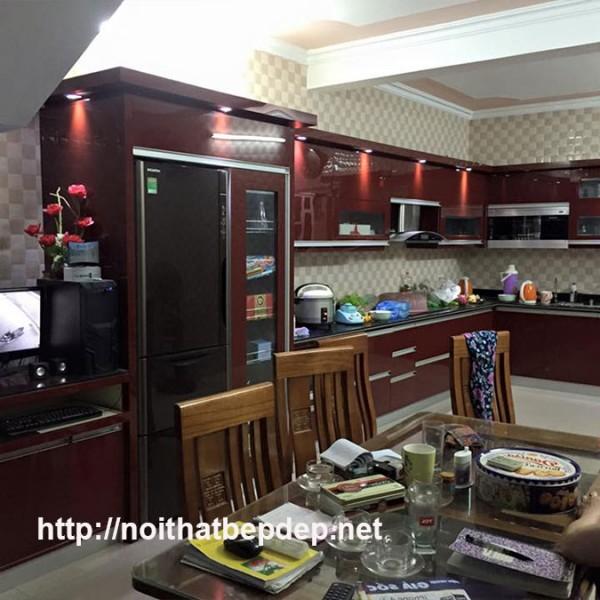 Tủ bếp inox ở Quảng Ninh