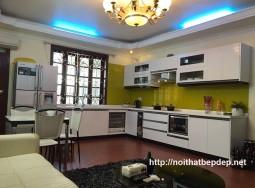 Tủ bếp inox ở Thái Bình