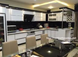Tủ bếp inox ở Ninh Bình
