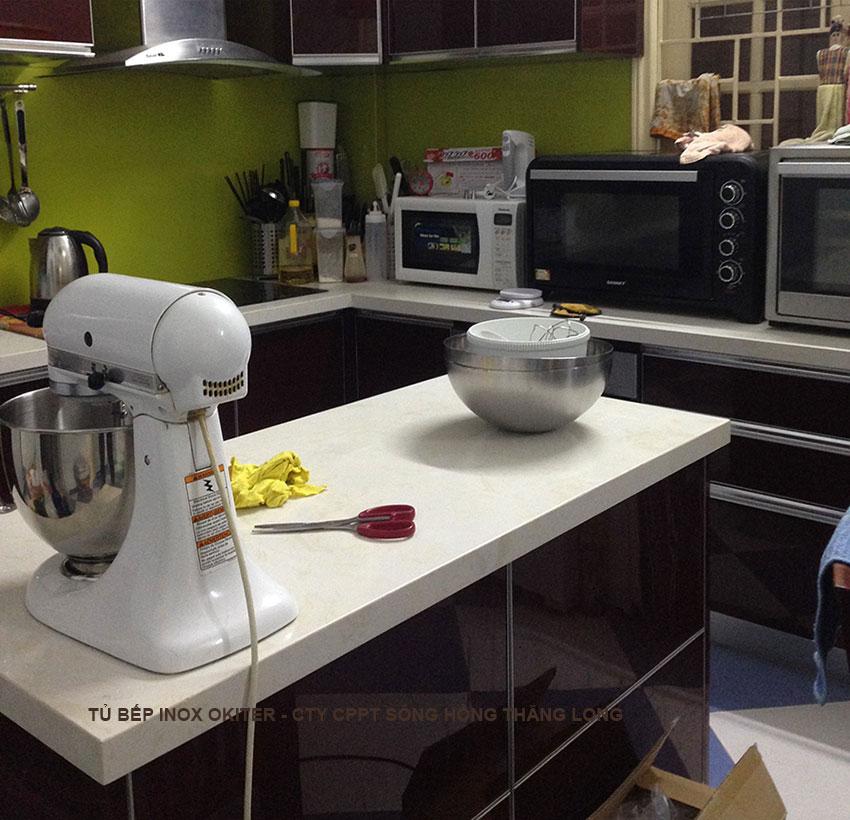 Mặt đá bàn bếp nhân tạo