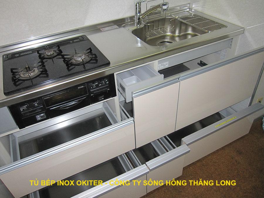 Ngăn kéo inox-phụ kiện tủ bếp inox