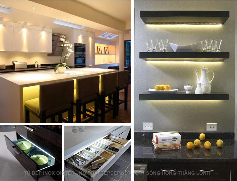 Đèn led tủ bếp thông minh