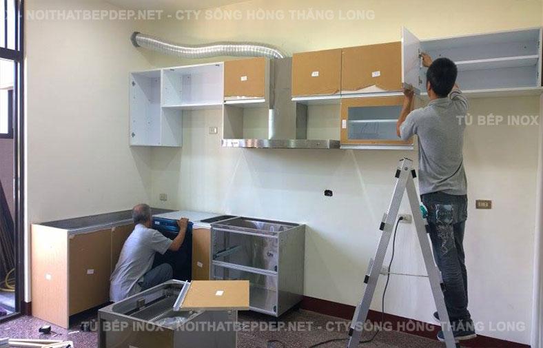 Tủ bếp nhựa TLN09-1
