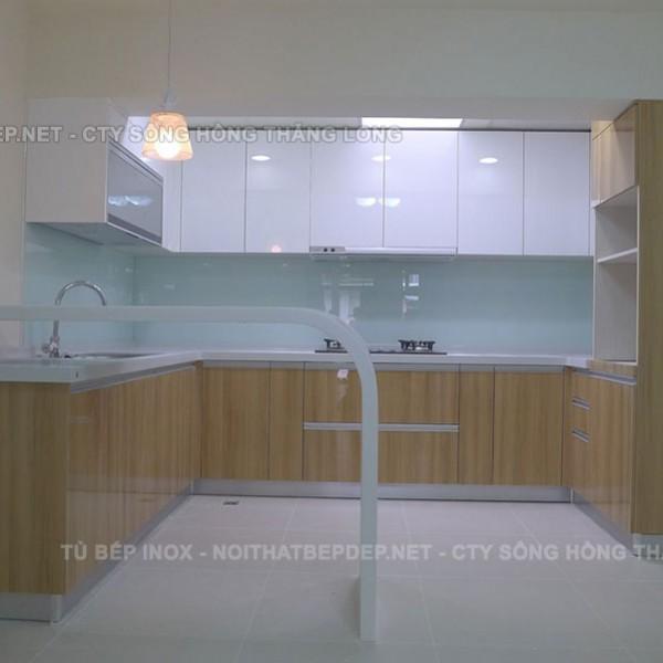 Tủ bếp nhựa TLN10