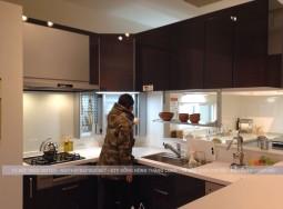Sử dụng tủ bếp bằng inox là sống xanh và bền vững
