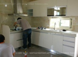 Tủ bếp nhựa TLN11-1
