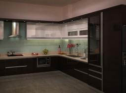 Tủ bếp inox ở PNL-1